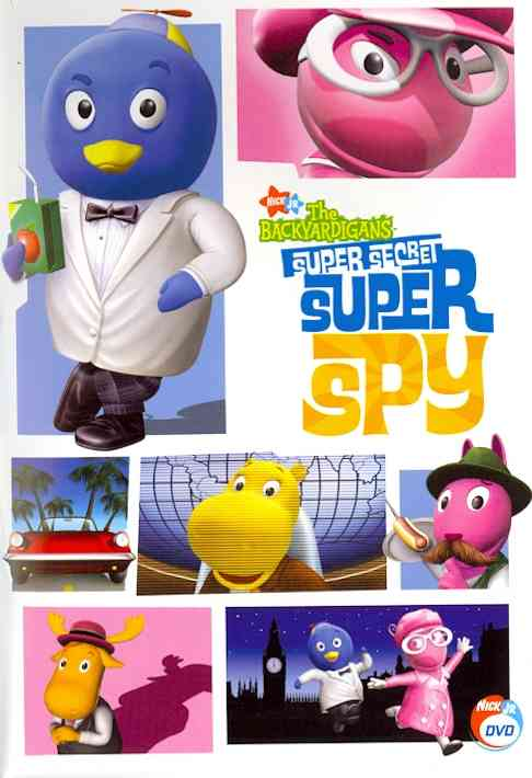 BACKYARDIGANS:SUPER SECRET SUPER SPY BY BACKYARDIGANS (DVD)